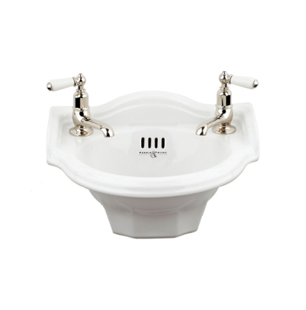 "Powder room basin ""Edwardian"""