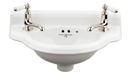 "Powder room basin ""Victorian"""