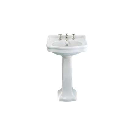 Handfat La Chapelle 57 cm - Piedestal
