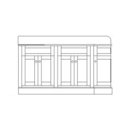 Cotswold - 5 dörrar (vägg)