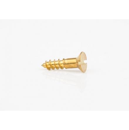Mässingsskruv försänkt, Gauge 9 - 4,52 mm