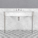 Tvättställ - Single white Edwardian