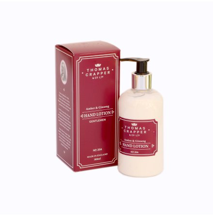 Hand Lotion Amber & Ginseng, 300 ml