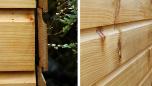Western Red Cedar (torkad) - Shiplap