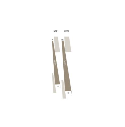 Fingerskarvad Kastanj - Feather Edge
