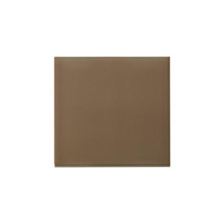 Slätt kakel 152x152 mm, Mocha