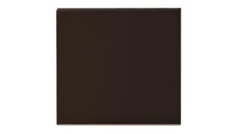 Slätt kakel 152x152 mm, Chocolate