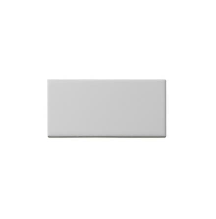 Slätt kakel 152x76 mm, vit