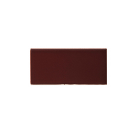 Slätt kakel 152x76 mm, Burgundy