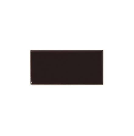 Slätt kakel 152x76 mm, Teapot brown