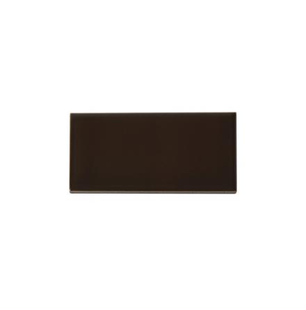 Slätt kakel 152x76 mm, Chocolate