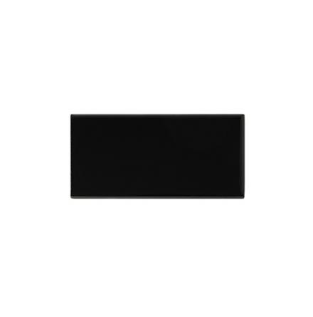 Slätt kakel 152x76 mm, Victorian black