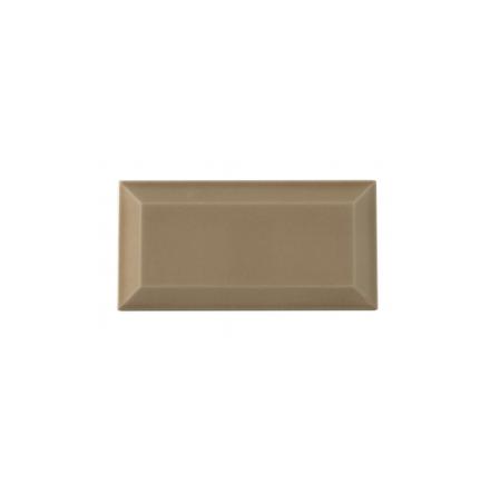 Kakel med fasad kant (slaktarkakel) 150x75x10 mm, Cappucino