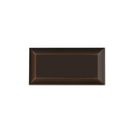Kakel med fasad kant (slaktarkakel) 150x75x10 mm, Chocolate