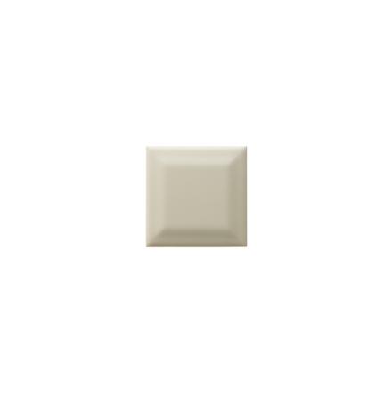 Kakel med fasad kant (slaktarkakel) 75x75x10 mm, Magnolia
