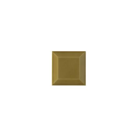 Kakel med fasad kant (slaktarkakel) 75x75x10 mm, Avocado