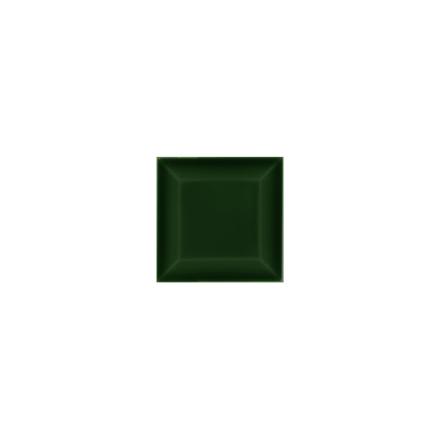 Kakel med fasad kant (slaktarkakel) 75x75x10 mm, Victorian green