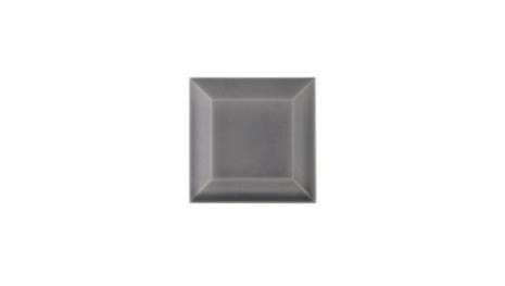 Kakel med fasad kant (slaktarkakel) 75x75x10 mm, Victorian grey