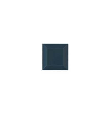 Kakel med fasad kant (slaktarkakel) 75x75x10 mm, Bluebell