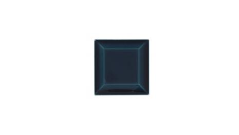 Kakel med fasad kant (slaktarkakel) 75x75x10 mm, Midnight blue