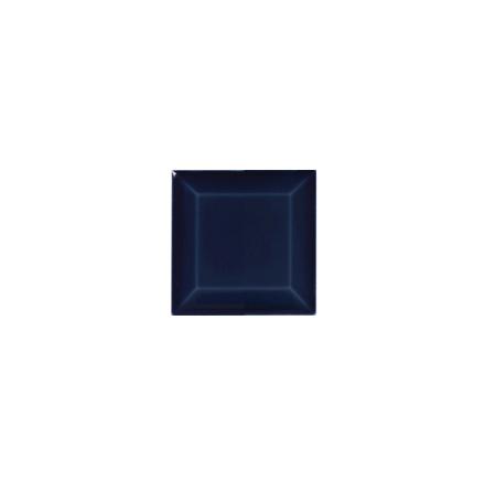 Kakel med fasad kant (slaktarkakel) 75x75x10 mm, Victorian black