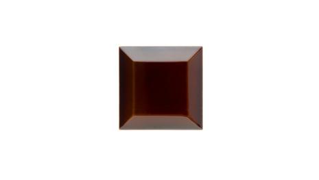 Kakel med fasad kant (slaktarkakel) 75x75x10 mm, Teapot brown