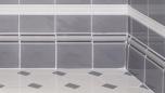 Golvsockel 152x152 mm, Bluebell