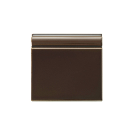 Golvsockel 152x152 mm, Chocolate
