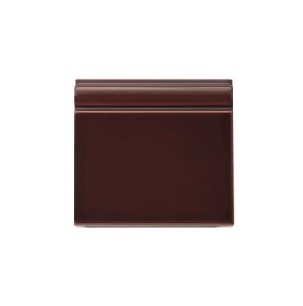 Golvsockel 152x152 mm, Claret