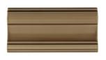 Bröstlist Classic 152x76 mm, Mocha