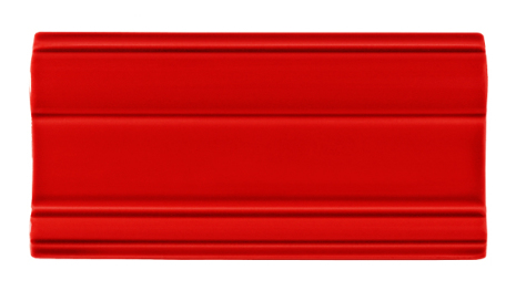 Bröstlist Classic 152x76 mm, Red