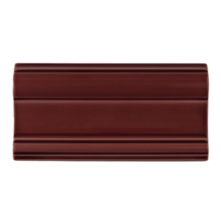 Bröstlist Classic 152x76 mm, Burgundy