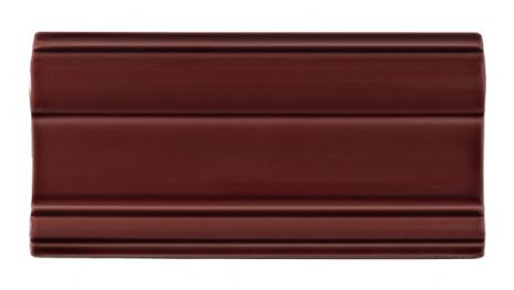 Bröstlist Classic 152x76 mm, Burgundy