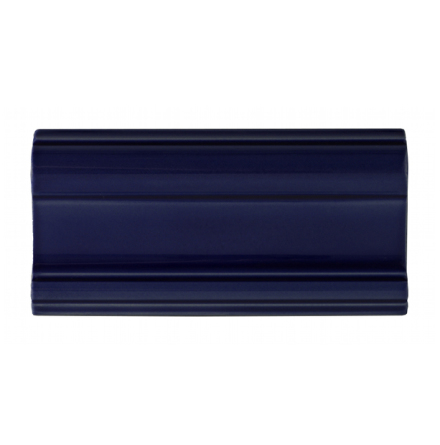 Bröstlist Classic 152x76 mm, Victorian Black