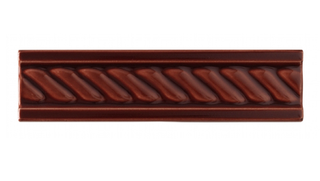 List ´Cable´ 152x34 mm, Burgundy