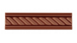 List ´Cable´ 152x34 mm, Victorian Brown