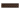 List ´Cable´ 152x34 mm, Teapot  Brown