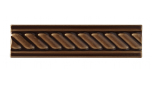 List ´Cable´ 152x34 mm, Chocolate