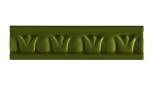 List ´Crown´ 152x34 mm, Jade