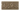 Kakel list LEAF 152x76 mm, Mocha