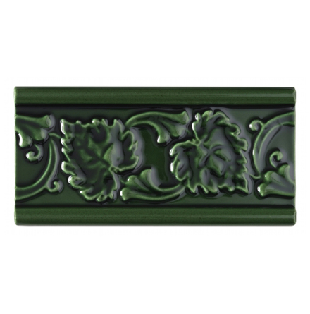 Kakel list LEAF 152x76 mm, Victorian Green