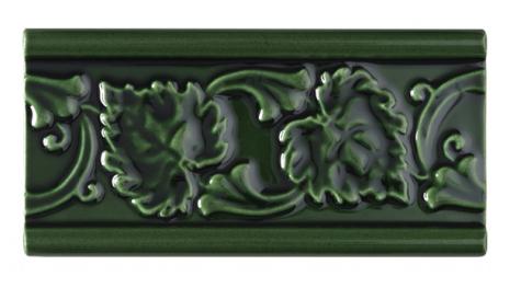 Kakel list LEAF 152x76 mm, Victorian Green