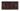 Kakel list LEAF 152x76 mm, Claret
