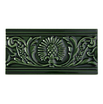 Kakel list Thistle 152x76 mm, Victorian green