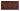 Kakel list Thistle 152x76 mm, Burgundy