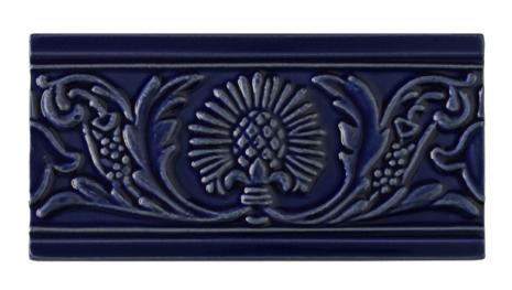 Kakel list Thistle 152x76 mm, Victorian blue