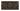 Kakel list Thistle 152x76 mm, Chocolate