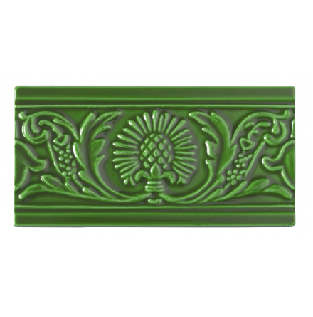 Kakel list Thistle 152x76 mm, Apple green