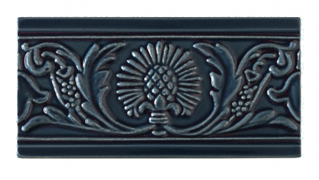 Kakel list Thistle 152x76 mm, Midnight blue