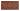 Kakel list Thistle 152x76 mm, Victorian brown